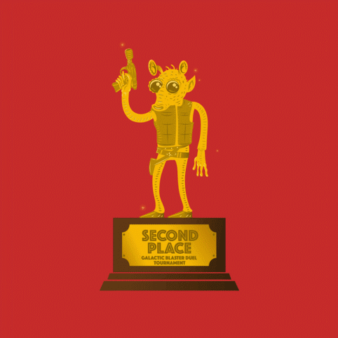 2nd Place Blaster Duel Trophy
