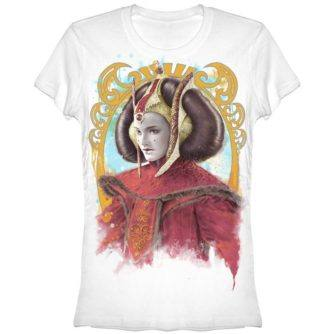 Queen Amidala Juniors Tshirt