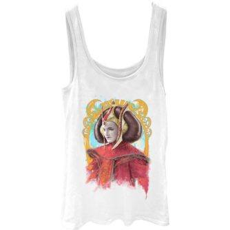 Queen Amidala Juniors Tank Top