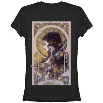 Skywalker Art Nouveau Junior's Tshirt