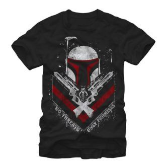 Boba Fett No Threats Only Promises Tshirt