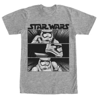 First Order Stormtrooper Panels Tshirt