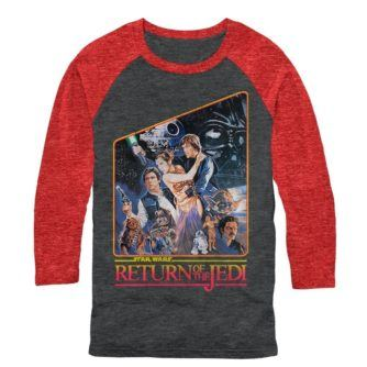 Return of the Jedi Baseball Tshirt