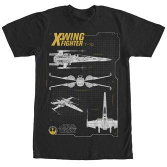 The Force Awakens T-70 X-Wing Tshirt