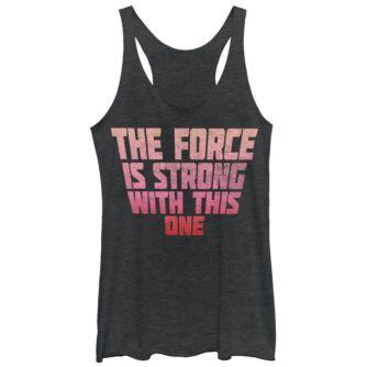 Force is Strong With This One Women's Tank Top