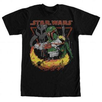 Boba Burns Tshirt